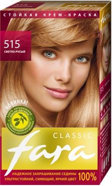 Краска для волос золотисто русый фара